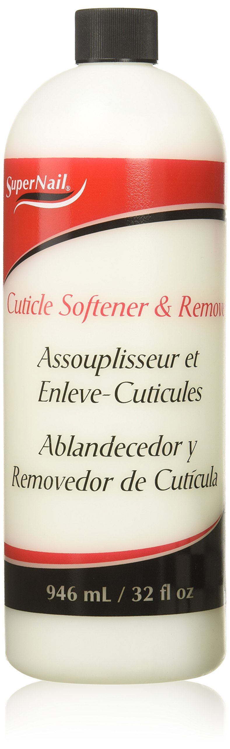 Supernail Cuticle Softener and Remover, 32 Fluid Ounce