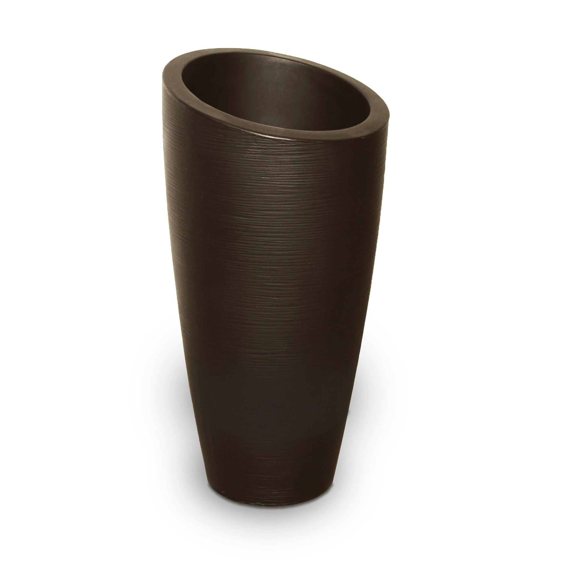 Mayne 8880-ES Polyethylene Planter, Espresso by Mayne