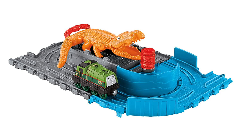 Thomas and Friends Take-N-Play Gators Chase & Chomp Mattel CDN05