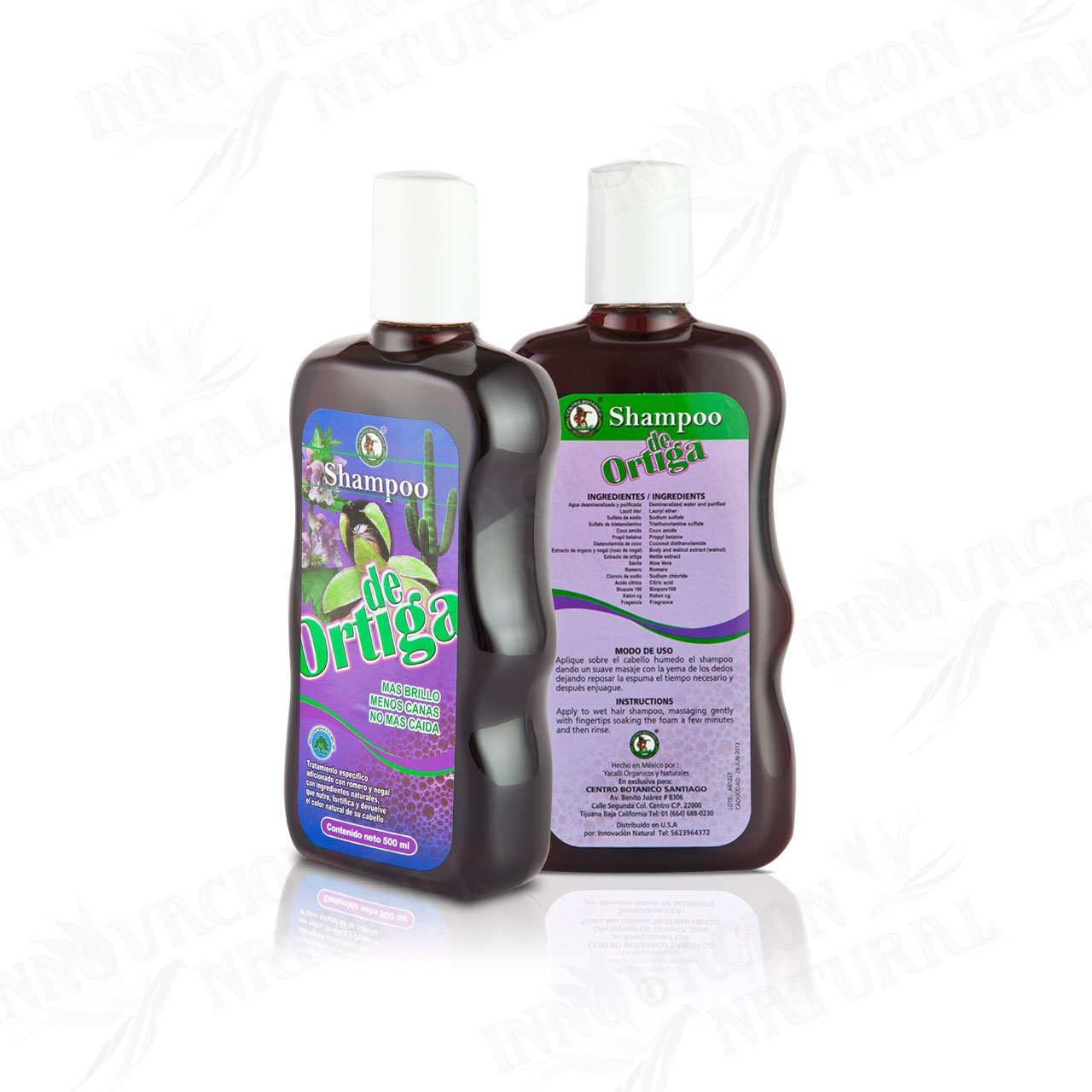 Amazon.com : Ortiga Shampoo Original Para Cre-C er Cabello : Hair Shampoos : Beauty