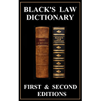 Black's Law Dictionary Kindle Edition - First (1st) and Second (2nd) Editions - 1891 & 1910 - Complete eBooks With Quick…