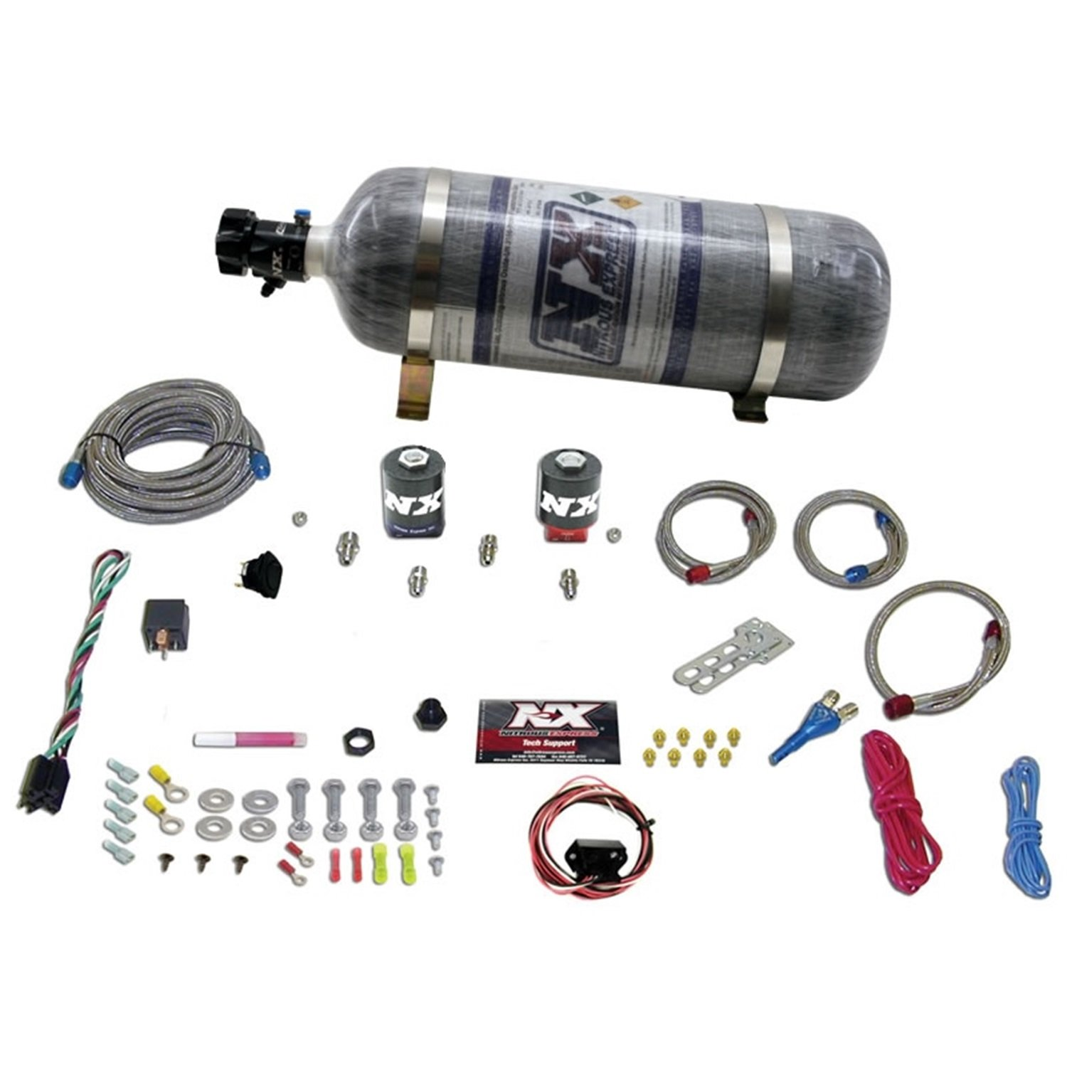 50%OFF Nitrous Express 20919-12 35-150 HP Universal Single Nozzle ...