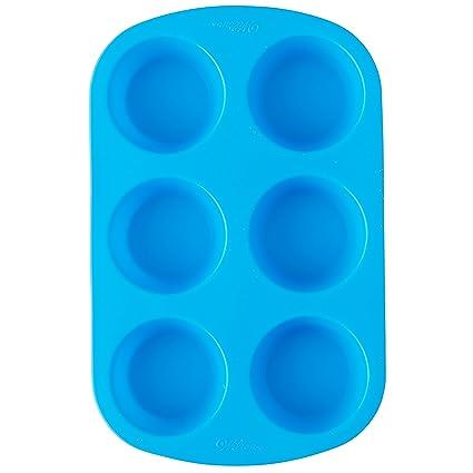 Wilton Easy Flex Silicone 6 Cavity Muffin Pan