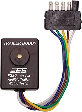 ESI 220 4/5 Pin Flat Trailer Wiring Buddy Wiring on ground and neutral, electric motor, junction box, power cord, knob-and-tube wiring, three-phase electric power, wiring diagram, extension cord, distribution board, circuit breaker, electrical conduit, electric power distribution, alternating current, earthing system, national electrical code, electrical engineering, power cable,