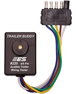 Amazon.com: Electronic Specialties ESI 222 7 Pin Round Trailer ...