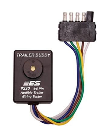 71RL9QOMSsL._SY450_ amazon com esi 220 4 5 pin flat trailer wiring buddy automotive 2017 Continental Boat Trailer Tandem 5 Pin at crackthecode.co