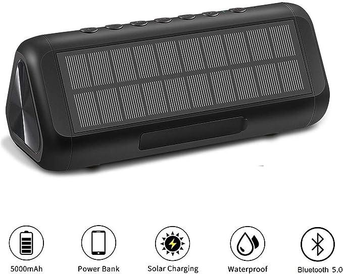 ColorFODA Solar Bluetooth Speaker