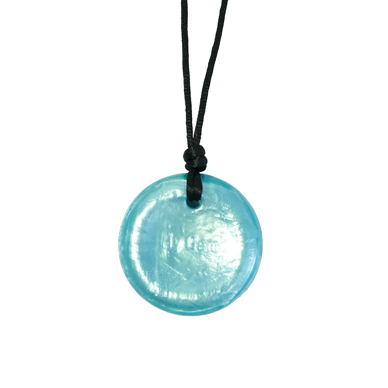 Amazon Disc Pendant Whirlpool Chew Necklace for Sensory