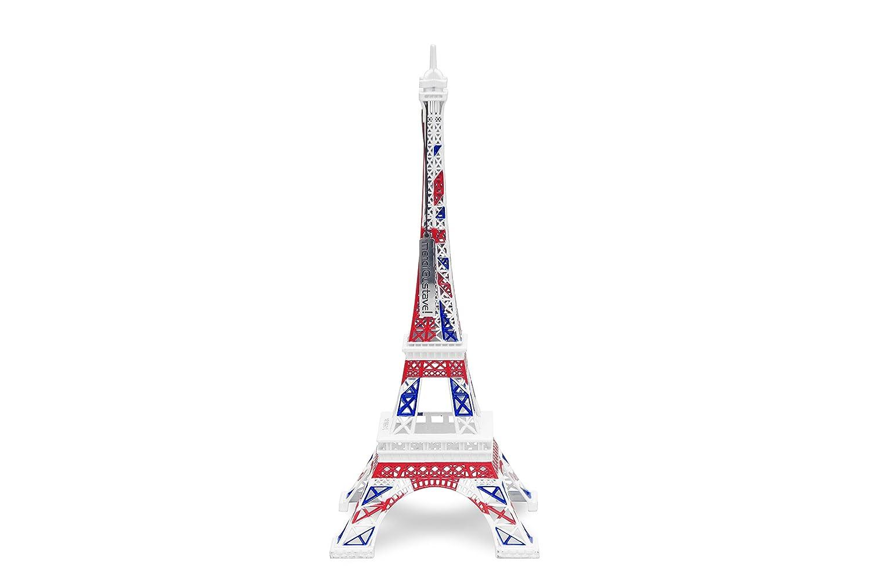 Merci Gustave orid0302Torre Eiffel Originale Metallo Bandiera Regno Unito 13, 5x 13, 5x 31, 5cm FTD