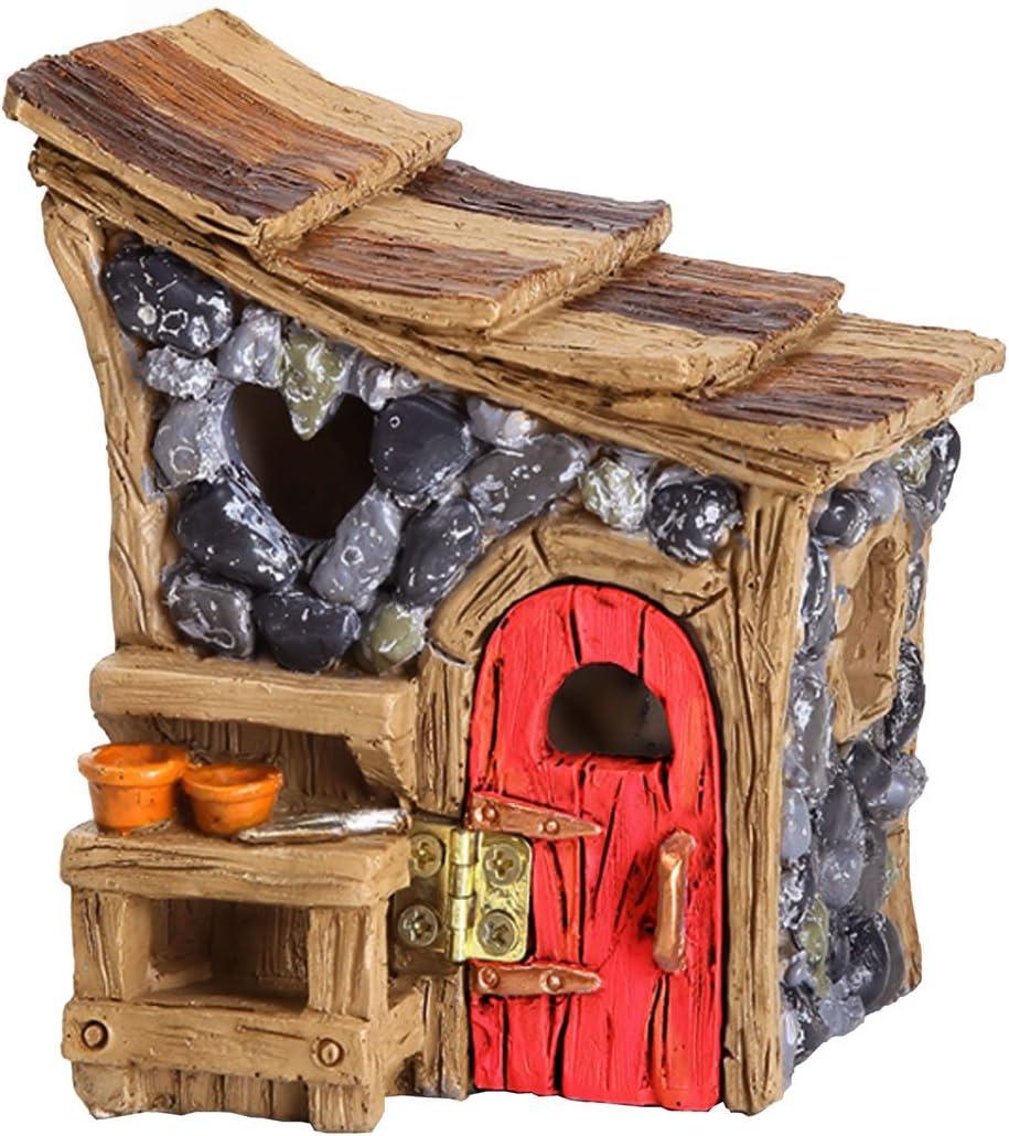 Miniature Fairy Garden Shingletown Garden Shed Building