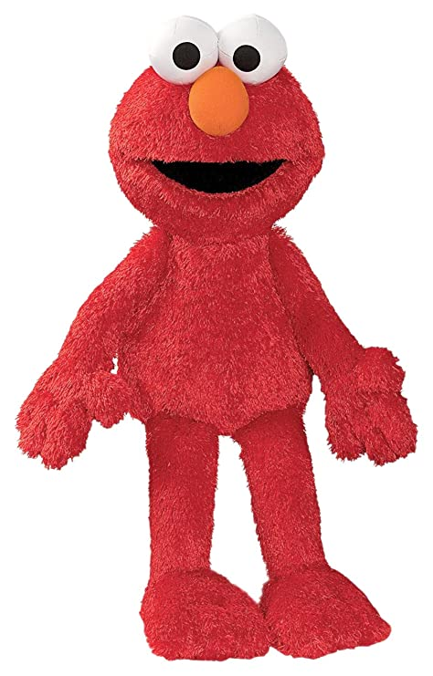 Amazon Com Gund Sesame Street Elmo Stuffed Animal 20 Inches Toys