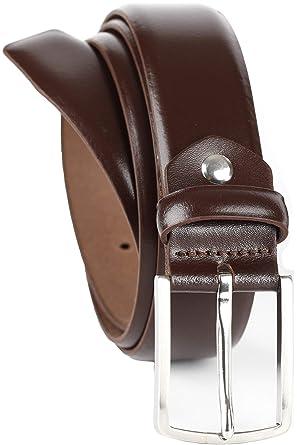 QUAMOD - Cinturón de piel de alta calidad para hombre, caja ...