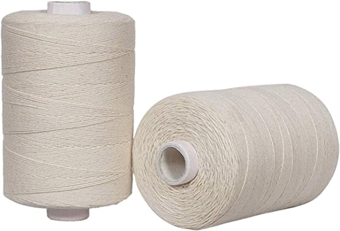 12  WHITE Spools 100/% PURE SEWING COTTON THREAD 800 Meters EACH