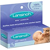 Lansinoh HPA Lanolin 100% Ultra Pure Lanolin, 50g, 50 Grams