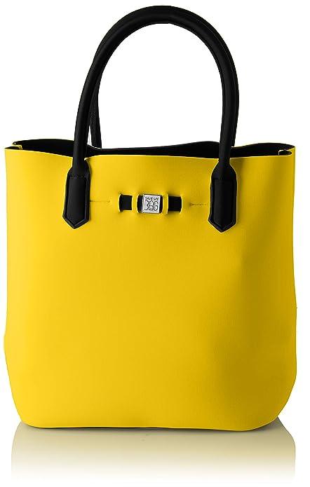 SAVE MY BAG - Popstar, Bolsos de mano Mujer, Amarillo (Rabat),