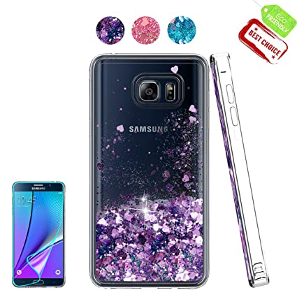 Amazon.com: Galaxy Note 5 funda con HD Protector de ...