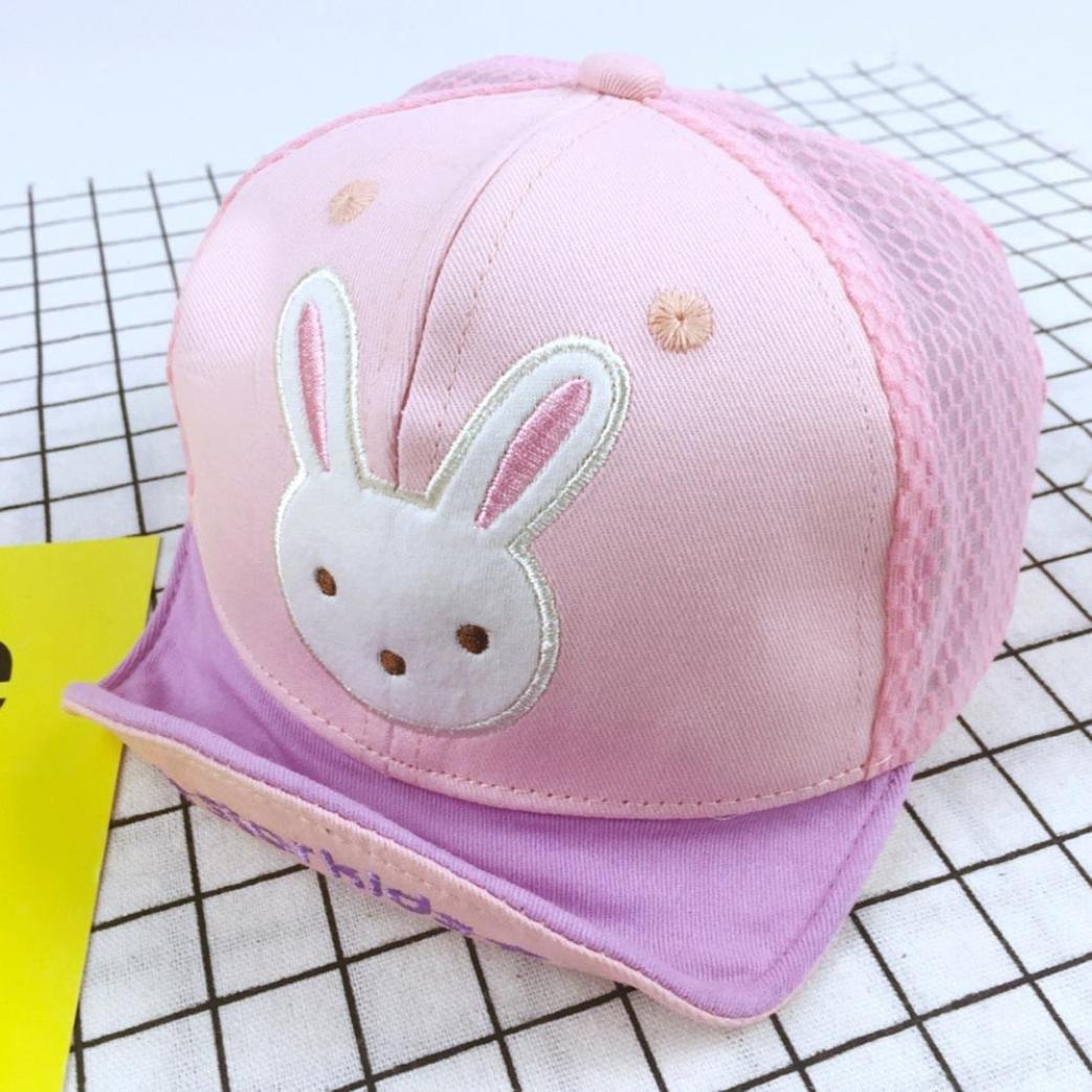 Suit for 0-3 Years old Baby,DIGOOD Cute Baby Girls Boys Cartoon Bear Rabbit Print Caps Hats