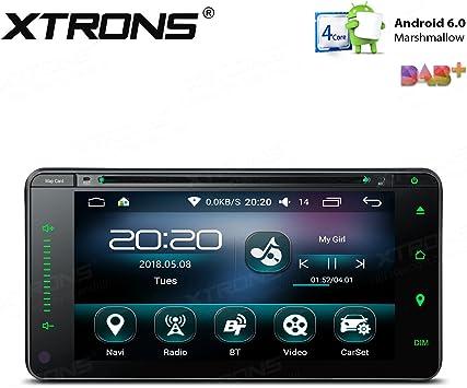 XTRONS 6,95 Pulgadas Android 6.0 Quad Core 16G ROM Radio Estéreo ...