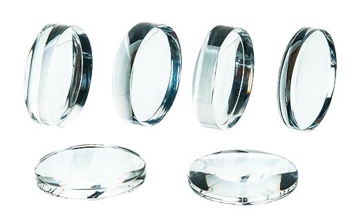 Acrylic Lenses - Set of 6-38mm Diameter: Amazon.com: Industrial & Scientific