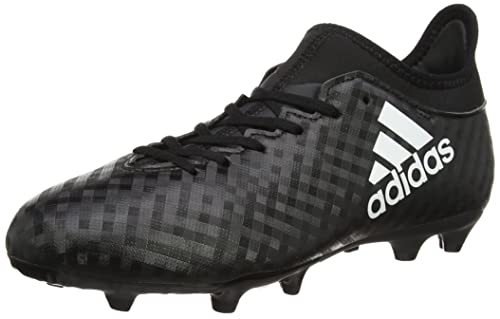 3 Bambini Unisex Calcio Ground Firm 16 Adidas Scarpe Nero Da X qRfp6wP7