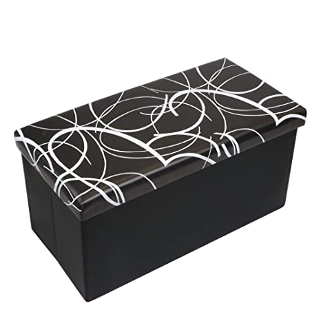 Amazoncom Otto Ben 30 Inch Swirl Design Memory Foam Seat Folding
