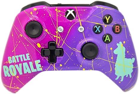 Llama Royale Xbox One S - Mando inalámbrico Personalizado, Pintado ...