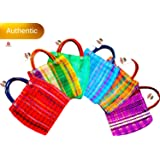 Amazon.com: Mini Mexican Tote Favor Bags (Mexican Candy Bags ...