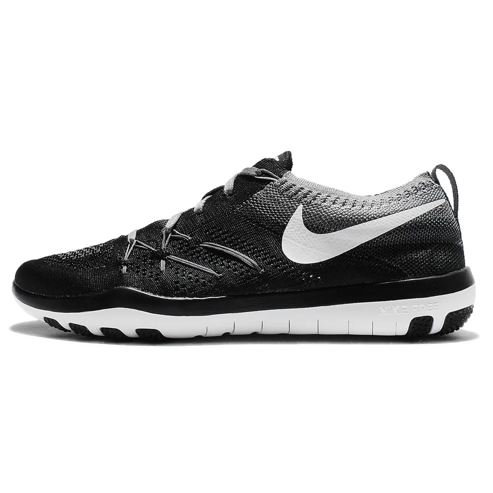 brand new 3c32c 1a92b Galleon - Nike Women s WMNS Free TR Focus Flyknit, Black White-Cool Grey,  5.5 M US