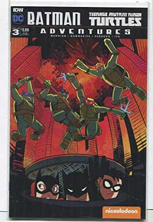 Amazon.com: Batman Adventures- Teenage Mutant Ninja Turtles ...