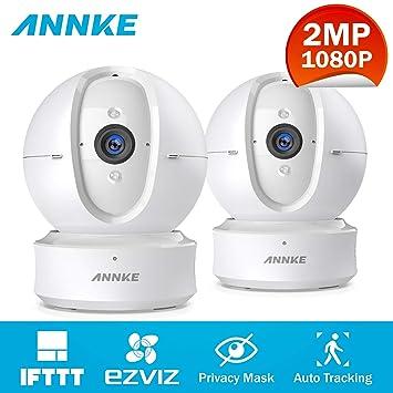 ANNKE 1080P IP Cámara de vigilancia WiFi Inalámbrica Nova Orion 2.4G con Micrófono y Altavoz