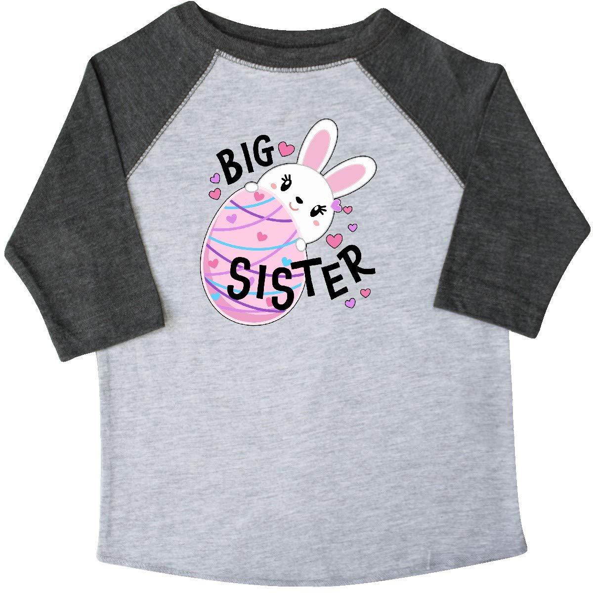 Easter Egg Toddler T-Shirt inktastic Big Sister Bunny