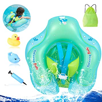 Amazon.com: Flotadores de piscina NOUVCOO para bebés ...
