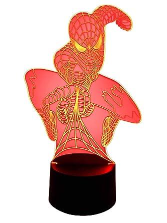 originales 3d LED lámpara de luces lámpara Home Coming ...