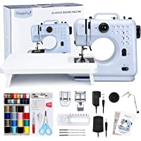 Magicfly Portable Sewing Machine, 12 Built-in Stitches Mini Sewing Machine for Beginner with Reverse Sewing, 3…