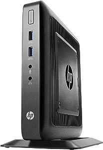 HP Y6Z03UT#ABA Flexible Thin Client T520, Tower, 4 GB Ram, 16 GB SSD, AMD Radeon HD, Black (Renewed)