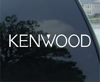 Kenwood 6 white sticker decal vinyl decal car truck laptop wall