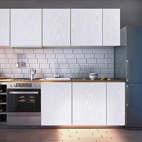 KINLO Carta per mobili Adesiva 5*0.61M Adesivo per Cucina PVC Carta ...