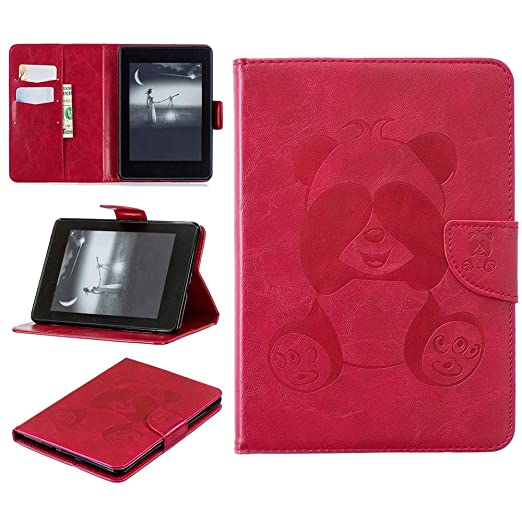 46608ac072efb Amazon.com: Alimao for Amazon Kindle 100% Ultra Slim Smart Leather ...