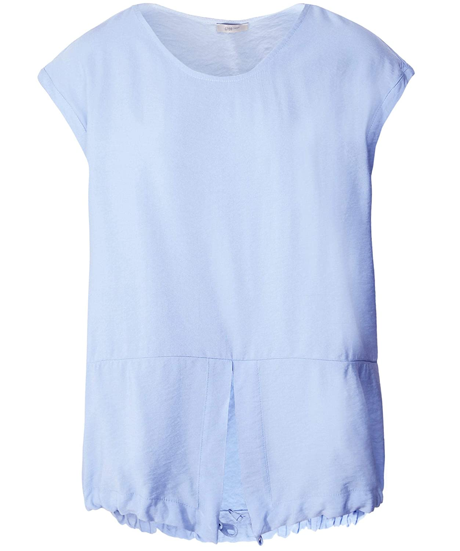 bluee Crea Concept Women's Split Front Top bluee