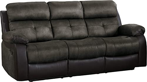 Homelegance Manual Double Reclining Sofa
