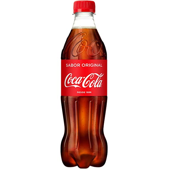 Coca-Cola - Botella de Plástico 500 ml