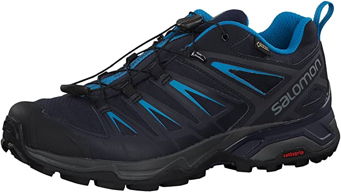 | Salomon Men's Hiking Shoe, graphitenight sky