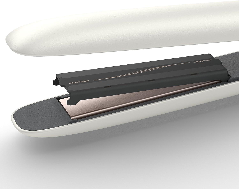 Philips Nutri Wonder - Plancha de pelo premiun para nutrir, proteger y alisar en una sola pasada: Amazon.es: Salud y cuidado personal