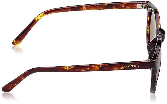 Miss Hamptons Denzel Gafas de Sol, Marrón/Rosa, 60 Unisex