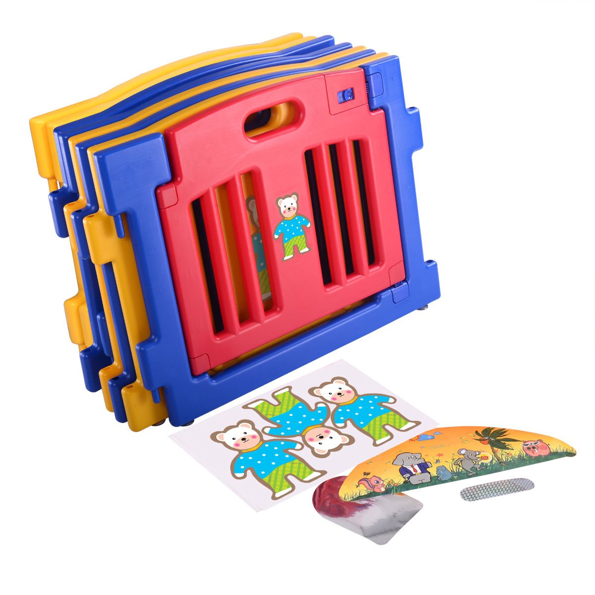 New 8 Panel Safety Play Center Baby Playpen Kids Yard Home Indoor Outdoor Pen by Eade shop (Image #7)