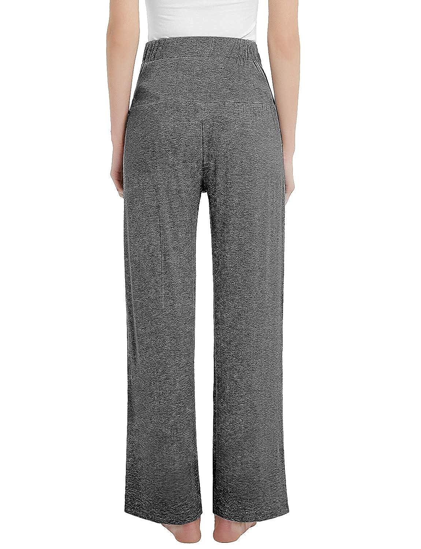 Joyaria Womens Maternity Over The Belly Sweatpants Yoga//Lounge//Pajama//Sleep Pants