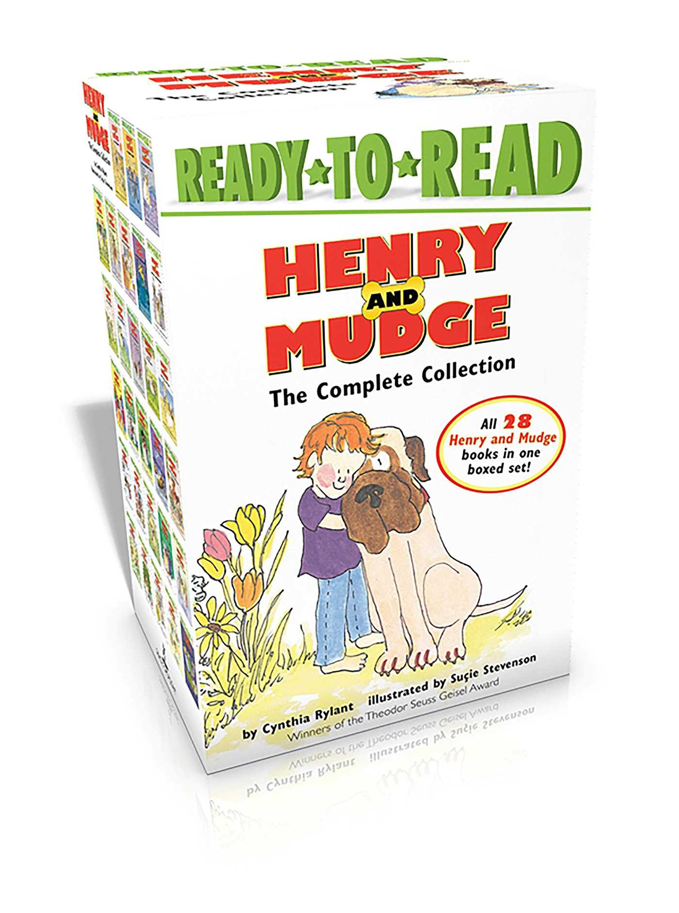 Amazon.com: Henry and Mudge The Complete Collection: Henry and Mudge; Henry  and Mudge in Puddle Trouble; Henry and Mudge and the Bedtime Thumps; ...
