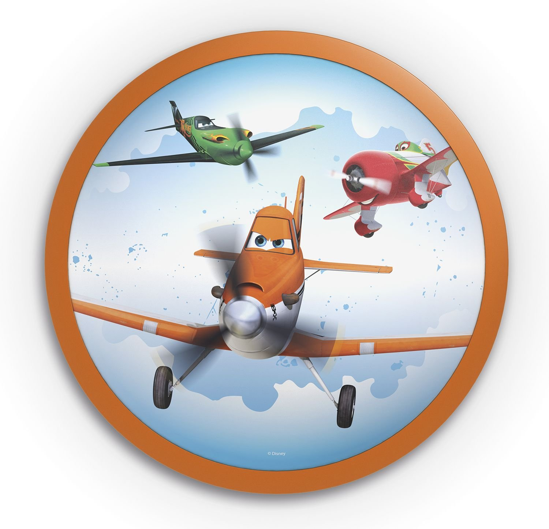 Philips Disney Planes LED Deckenleuchte, orange, 717605316: Amazon ...