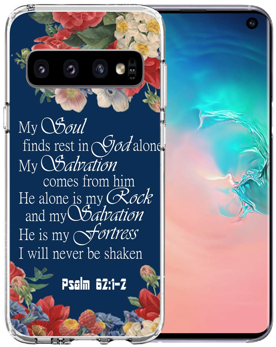 Amazon com: Topgraph Case for S10 Bible Verses Psalms [Soft TPU Slim
