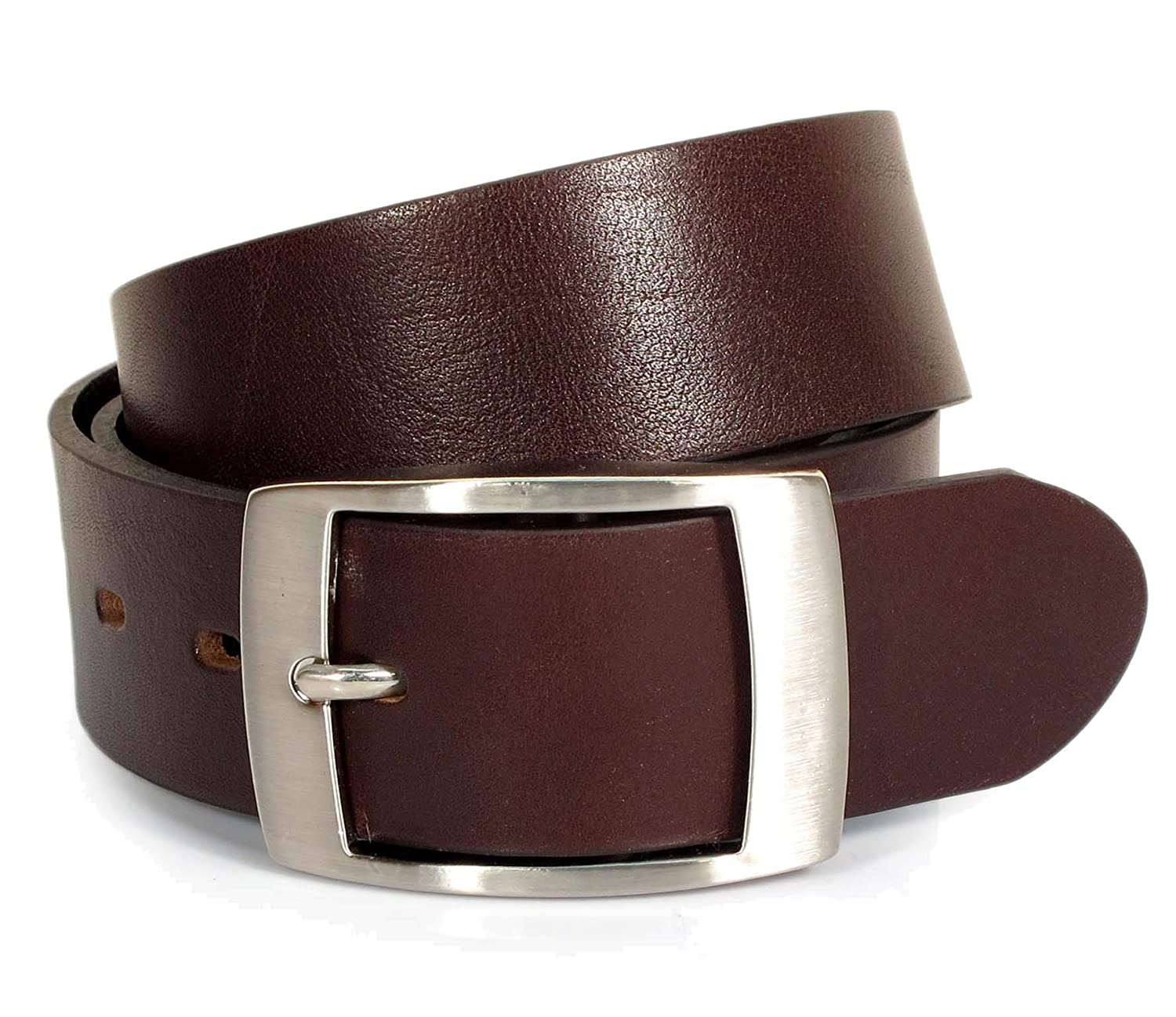 CA1 Mens Real Genuine Leather Belt Black Brown White 1.5 Wide S-XL Casual Jeans